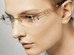 lunettes percée en titane