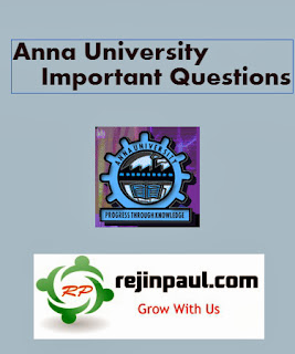 MBA Important Questions Anna University