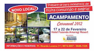 ACAMPAMENTO DE CARNAVAL 2012