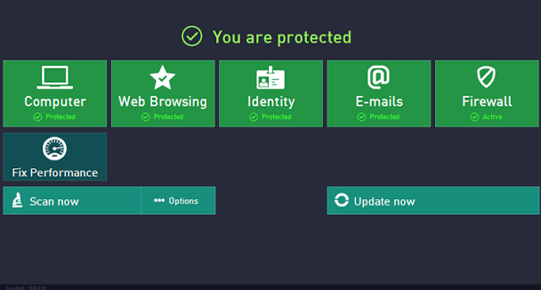 AVG Internet Security 2013 - Interface