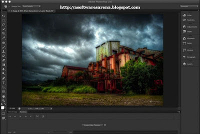 Adobe Photoshop CS6 Extended Screenshots