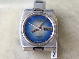 SEIKO BLUE MOP DIAL - AUTOMATIC 7006