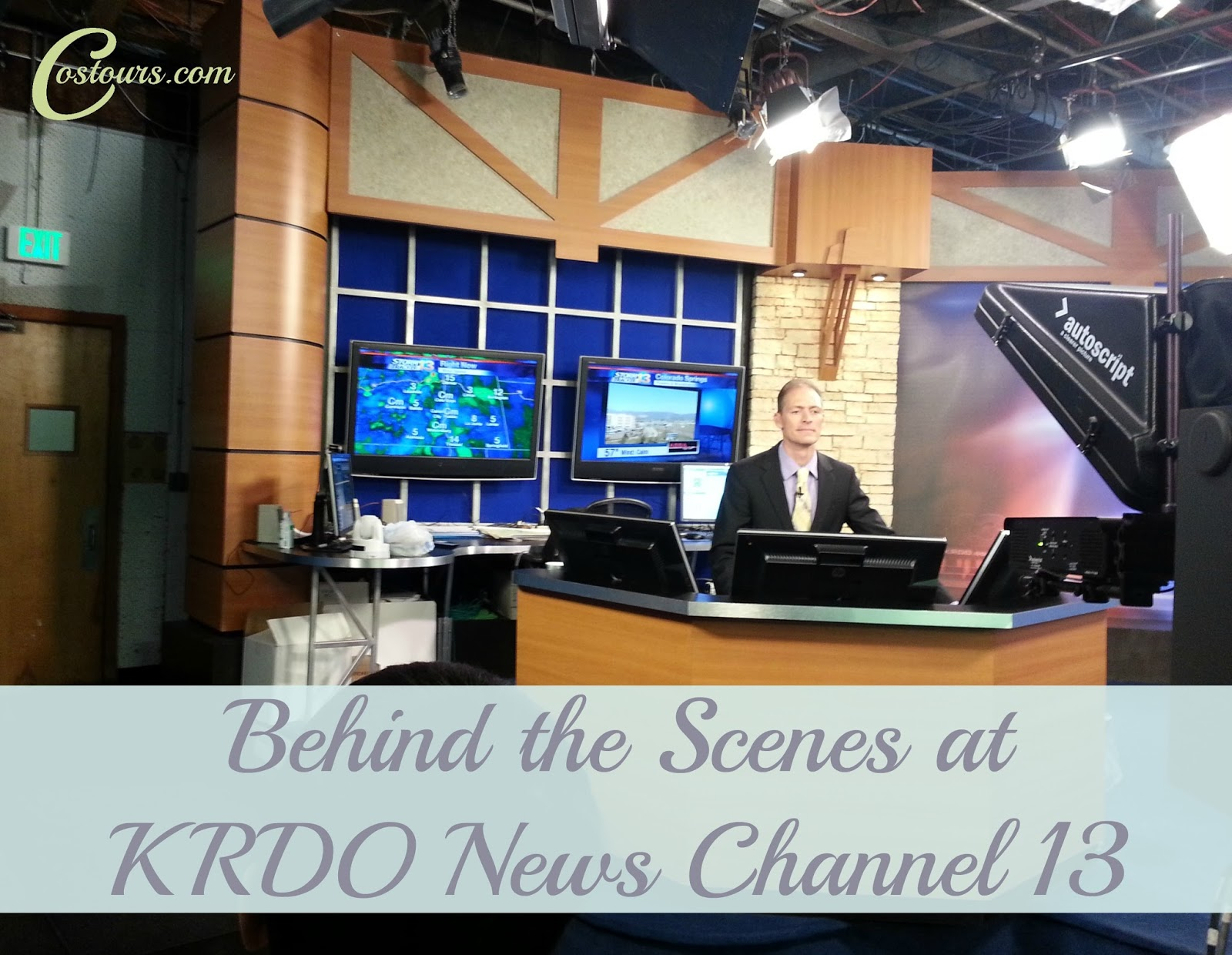 Behind the Scenes at KRDO News Channel 13