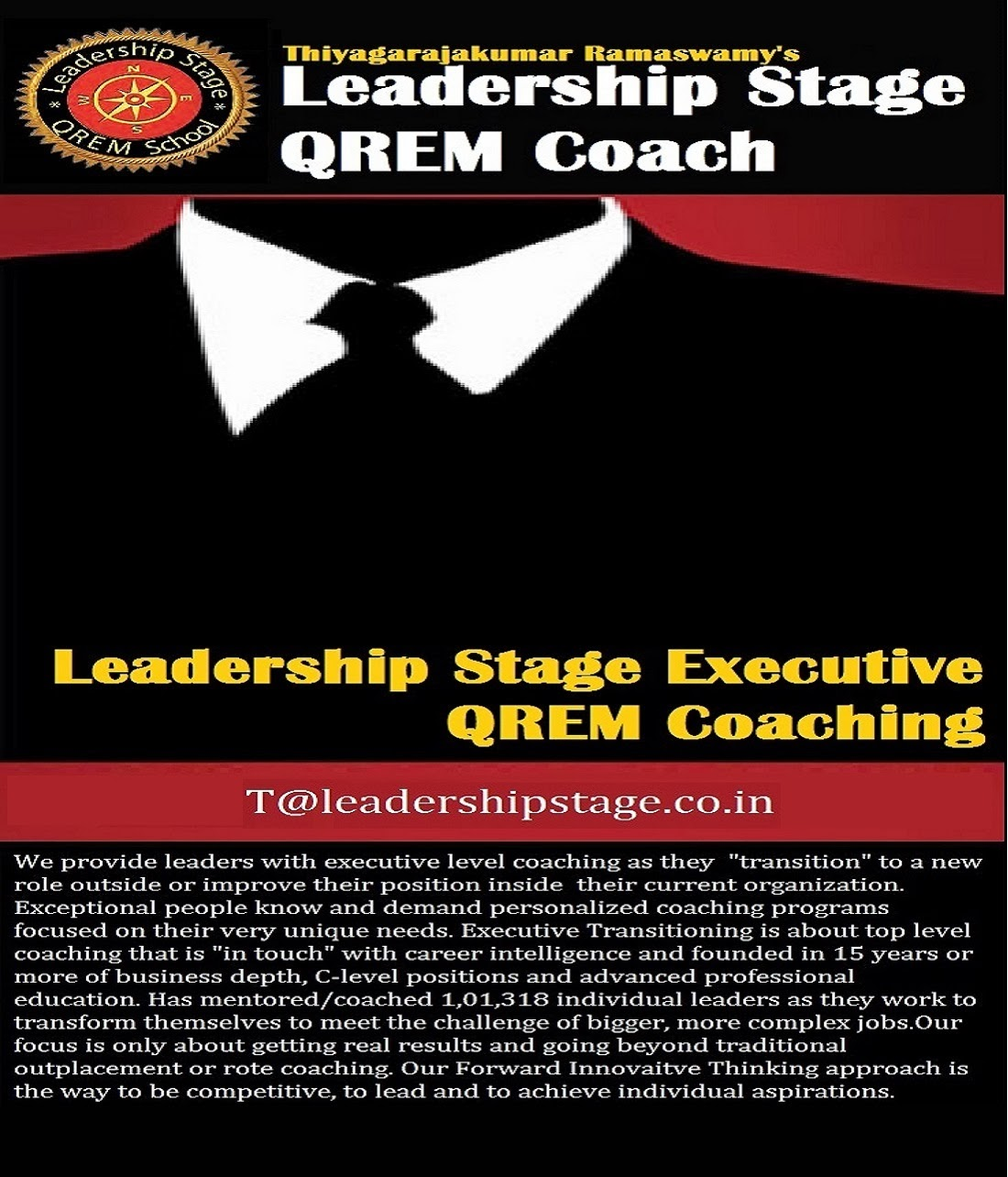Leadership Stage Executive QREM Coaching