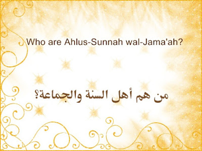 A. Ahlus-Sunnah wal-Jama'ah are those who hold fast to the Sunnah, who are united upon it, paying no heed to other than it, neither in matters of knowledge and beliefs, nor in practical matters pertaining to rites of worship and jurisprudence. This is why they are known as Ahlus-Sunnah, because they hold last to it (i.e. the Sunnah), and they are called Ahlul-Jama'ah (the people of unity/ congregation), because they are united upon it.   If one examines the case of Ahlul-Bid'ah (the people of Innovation), one finds that they are in disagreement in their affairs, whether it is their religious beliefs or their deeds. And this dissent proves that they are far away from the Sunnah, in proportion to the innovations they have added to their religion.   من هم أهل السنة والجماعة؟  الجواب: أهل السنة والجماعة هم الذين تمسكوا بالسنة، واجتمعوا عليها، ولم يلتفتوا إلى سواها، لا في الأمور العلمية العقدية، ولا في الأمور العملية الحكمية، ولهذا سموا أهل السنة، لأنهم متمسكون بها، وسموا أهل الجماعة، لأنهم مجتمعون عليها.  وإذا تأملت أحوال أهل البدعة وجدتهم مختلفين فيما هم عليه من المنهاج العقدي أو العملي، مما يدل على أنهم بعيدون عن السنة بقدر ما أحدثوا من البدعة.