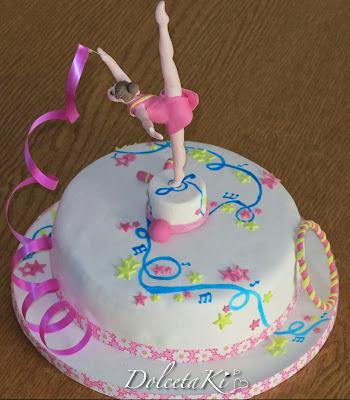 torta ginnastica ritmica