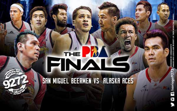 Image: San Miguel vs Alaska (2016 PBA Philippine Cup Finals by Soriaga9272
