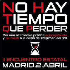 """Participa en el II Encuentro de """"No hay tiempo que perder"""" (2-abril-Madrid)"""