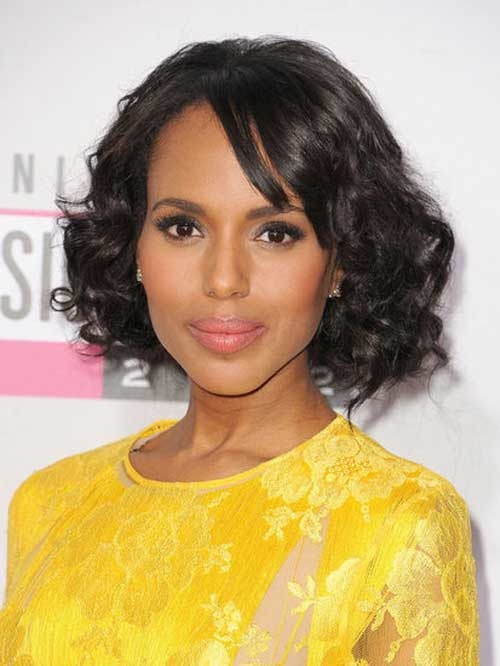Short curly black women hairstyles