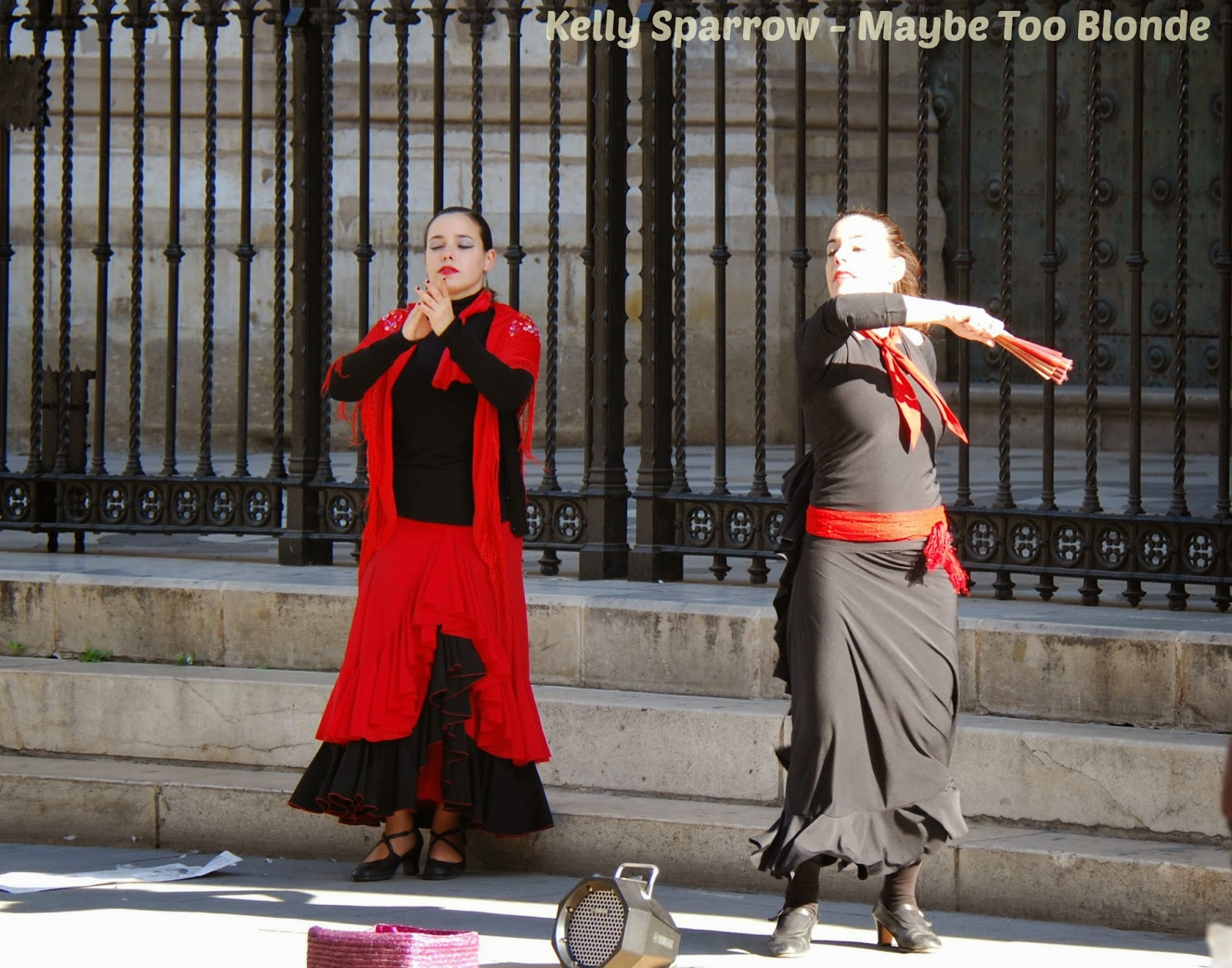 Flamenco dancers, Seville Spain