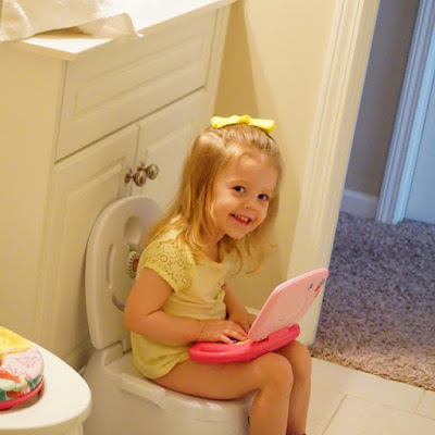 potty training, Growing Gracie,