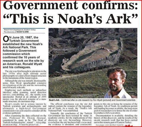 noahs ark essay