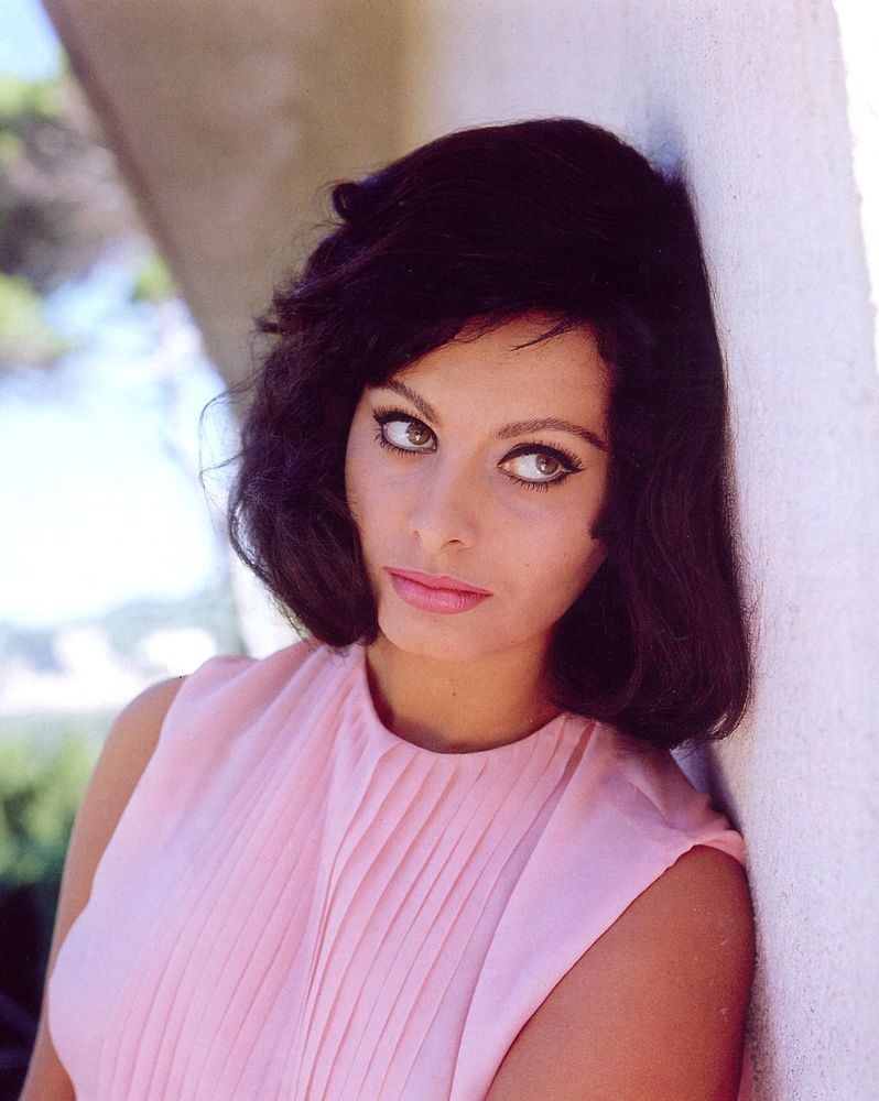 Film Noir Photos The Eyes Have It Sophia Loren