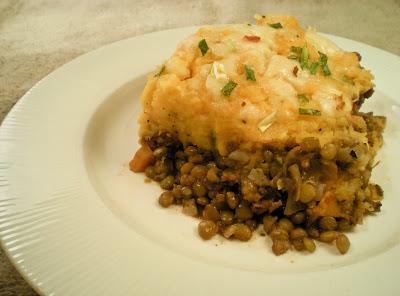 Lentil Gardener's Pie