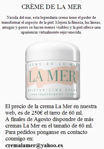 Comprar crema La Mer