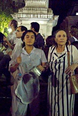 Cristina K Ganaria Otra Vez, Oposicion sin Chances