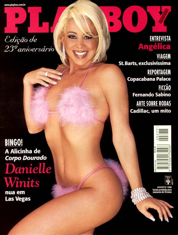 Danielle Winits Capa Da Playboy Edi O Especial De Anivers Rio