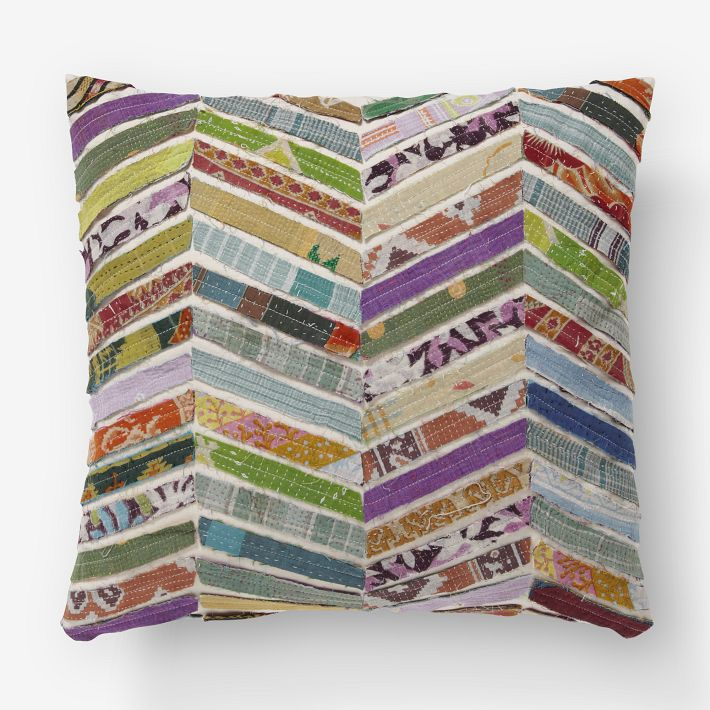 Bonnieprojects Caribbean Inspired Scrap Pillows