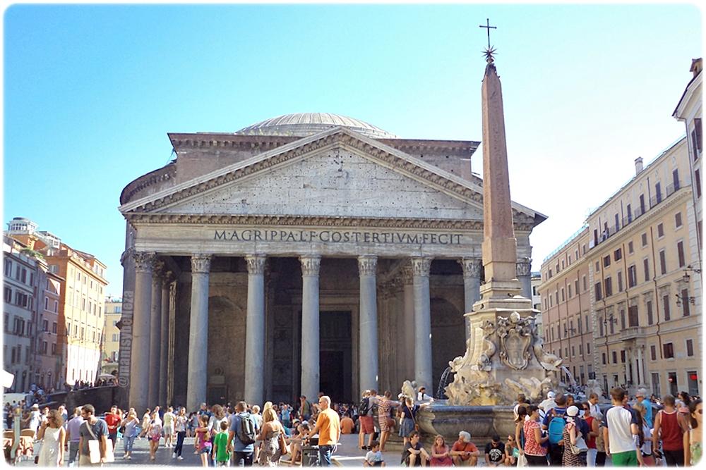 Panteón de Agripa Plaza Rotonda Italia Roma