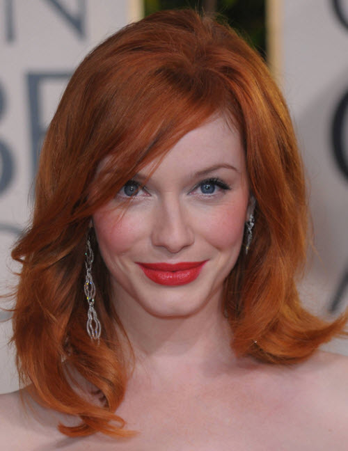Christina Hendricks: La colorada de Mad Men