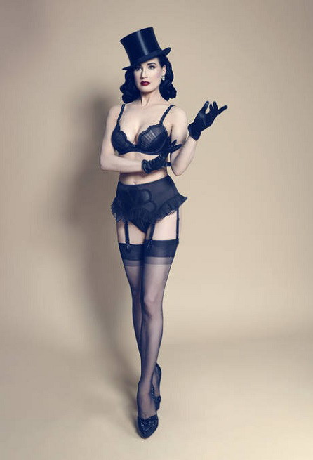 Von Follies by Dita Von Teese Fall 2013 Black Swan