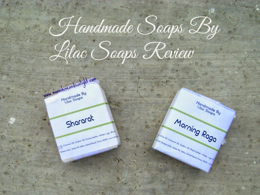 Budget Handmade soaps by Lilac Soaps|| Shararat and Morning Raga Review