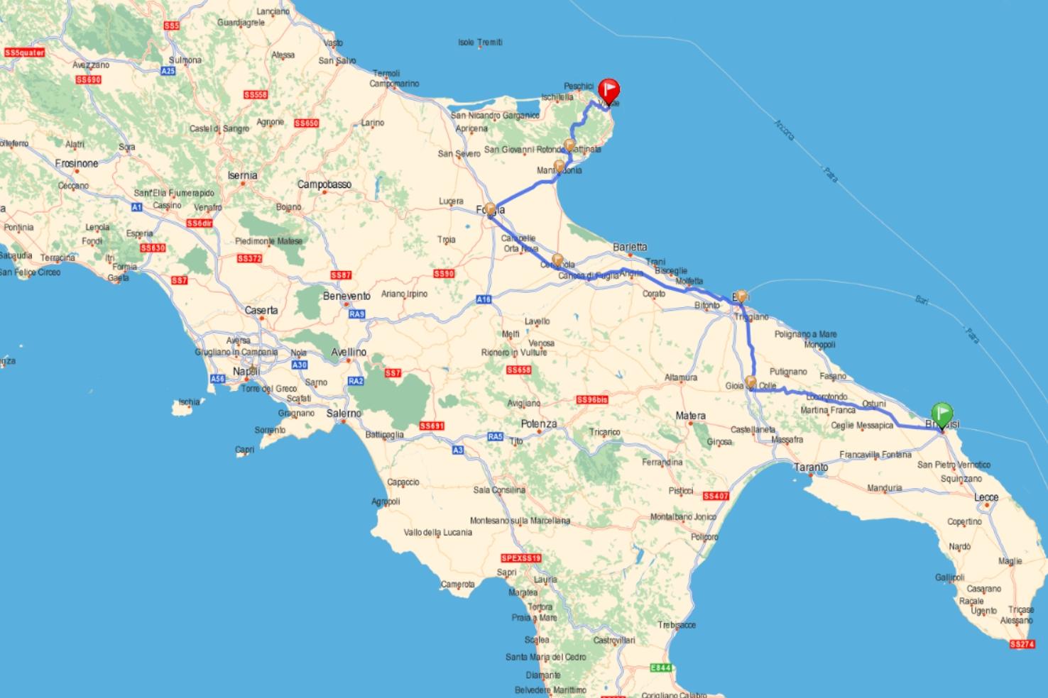 Italie Rome Visite Carte