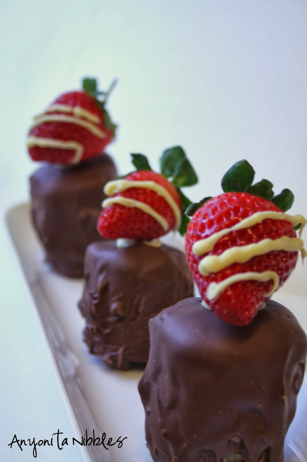 3 Gluten-Free Strawberry Chocolate Mousse Crunches for Valentine's Day