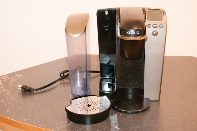 Spare Time Notebook Keurig B70 Disassembly