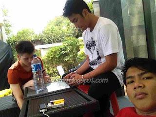 Foto Pemeran Iyan dengan Boy dan Haykal di Anak Jalanan RCTI