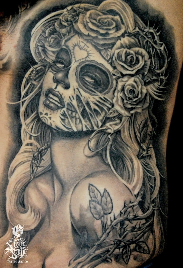 Fantastic Catrina Tattoos Idea