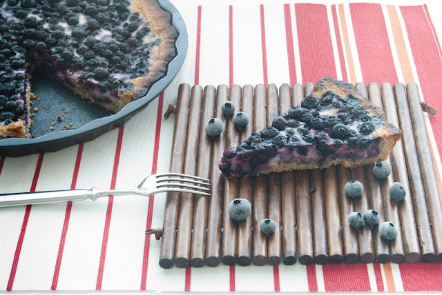Amazon y la tarta de arándanos con centeno (Blueberry tart with rye)
