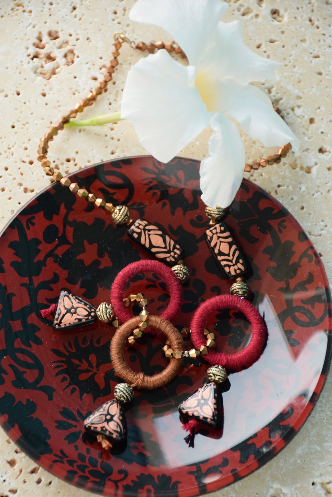 Alina necklace diy by Allison Beth Cooling