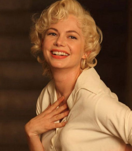 Michelle Williams Channels Marilyn on best film oscar nominations 2011
