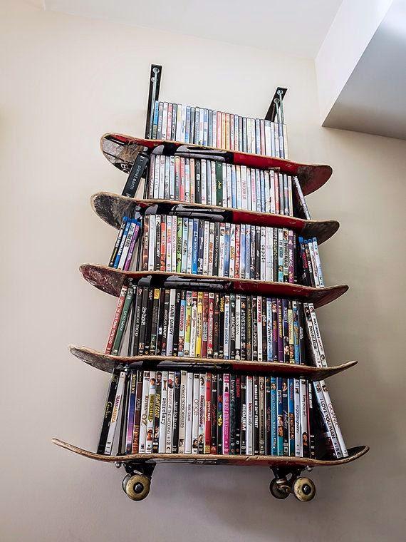 dicas incríveis para decoração de quarto de meninos - quarto skate