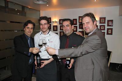 David Cachavera, Chef Felix Lorenzo, José Luis Salvá, Juanma Terceño