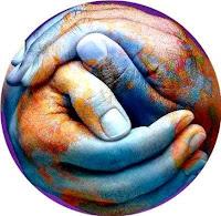 Respeto - Dos manos unidas en el mundo
