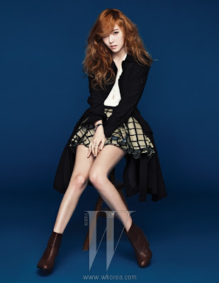 Jessica Jung SNSD Girls' Generation W Korea Magazine April Issue 2013