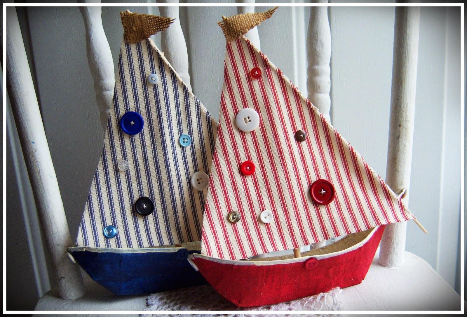 Shoregirl 39 s creations sailboats for Handmade paper creations