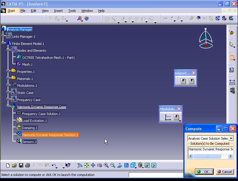 catia how to add a punctual force