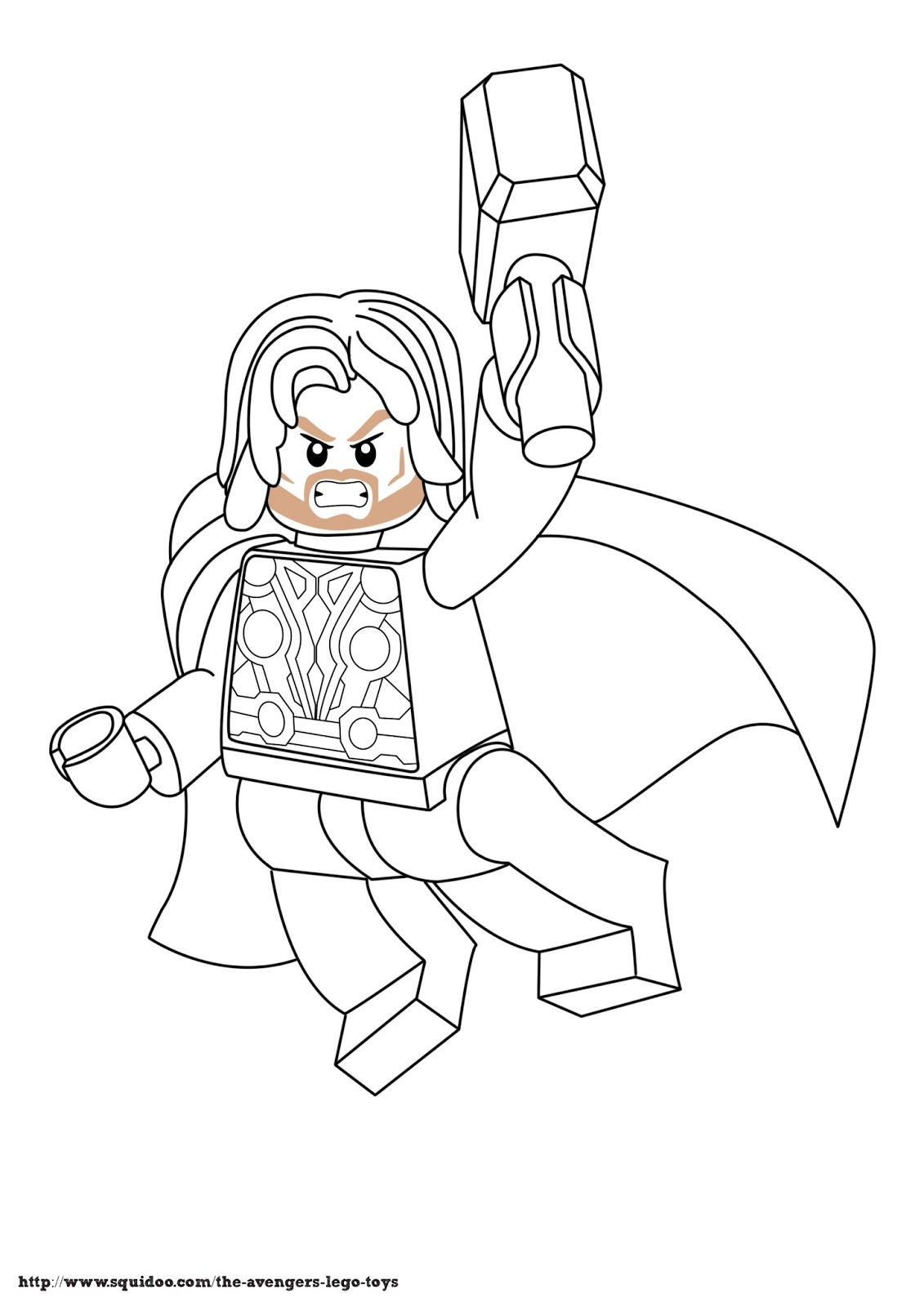 Free Coloring Pages Of Lego Marvel Lego Marvel Coloring Pages