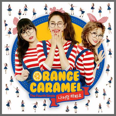 Orange Caramel My Copycat Cover