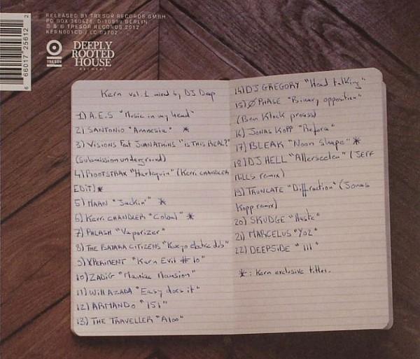 Dj deep kern vol 1 i migliori album di musica for Deep acid house