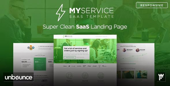 Best Responsive Landing Page Template