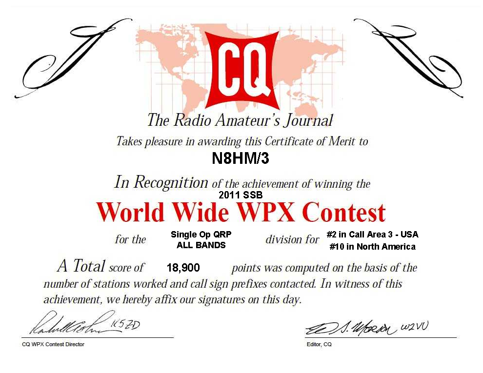 N8HM\'s Apartment QRP Contesting Blog: CQ WPX SSB and eQSL.cc eDX ...