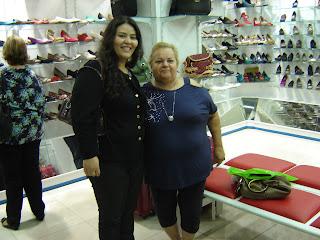 Dona Neusa e Liliana