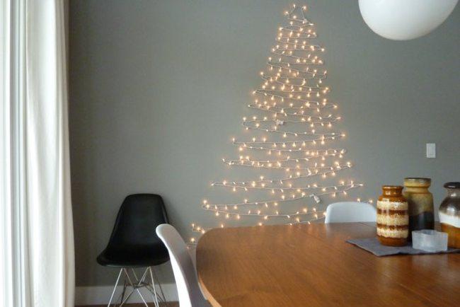 Decor me 10 rboles de navidad originales y f ciles de hacer for Cuanto mide un arbol