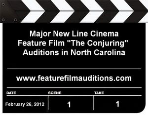 New Line Cinema The Conjuring Auditions