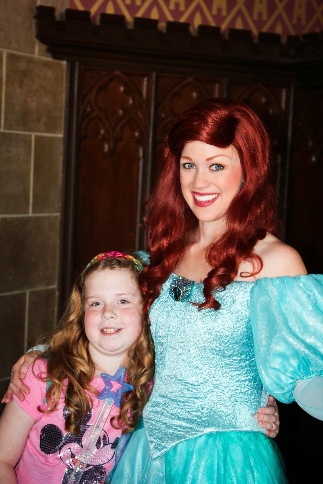 Princess Ariel, the Little Mermaid