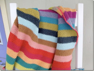 free crochet blanket pattern